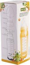 Стеклянная бутылочка для кормления Baby Team с широким горлом, с полипропиленовым чехлом и силиконовой соской 220 мл (1290) - изображение 6