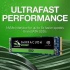 Накопичувач SSD M. 2 2280 250GB Seagate (ZP250CM3A001) - зображення 4
