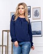 Блузка ELFBERG 5174 56 Темно-синя (2000000375724) - зображення 4