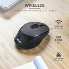Мышь Trust Zaya Rechargeable Wireless Black/Gray (TR23809) - изображение 10