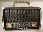 Акумуляторний радіоприймач колонка Kemai Retro (MD-1909BT) з Bluetooth і USB Black - зображення 8