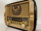 Аккумуляторный радиоприёмник колонка Kemai Retro (MD-1905BT) с Bluetooth и USB Gold - изображение 5