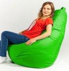 Крісло мішок груша 120х85см Зелений - зображення 2