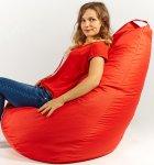 Крісло мішок груша 120х85см Червоний - зображення 2