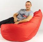 Крісло мішок груша 150х100 см Червоний - зображення 2