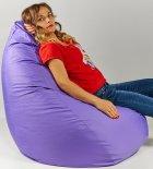 Крісло мішок груша 120х85см Бузок - зображення 3