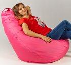 Крісло мішок груша 120х85см Рожевий - зображення 2