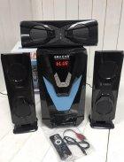 Акустическая система с сабвуфером 3.1 ERA E-Y3L 60W (Bluetooth, FM-радио, USB flash, SD card) - изображение 2