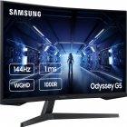 "Mонитор 31.5"" Samsung Odyssey G5 LC32G54T Black (LC32G54TQWIXCI) + DisplayPort и HDMI кабель - изображение 2"