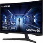 "Mонитор 31.5"" Samsung Odyssey G5 LC32G54T Black (LC32G54TQWIXCI) + DisplayPort и HDMI кабель - изображение 3"