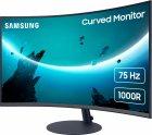 """Монітор 27"""" Samsung Curved C27T55 (LC27T550FDIXCI) - зображення 3"""