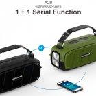 Портативная беспроводная Bluetooth колонка Hopestar A20 Pro 55Вт Black с влагозащитой IPX6 и функцией зарядки устройств (A20B) - изображение 5