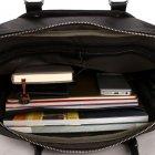 Мужская сумка Polo Vicuna черная (6610-4-BL) - изображение 9