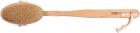Щітка для сухого масажу тіла Titania з натуральним ворсом і дерев'яною ручкою (2830) - зображення 1