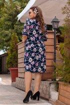 Платье ALDEM 1413 58 Темно-синее (2000000367453) - изображение 3