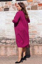 Платье + накидка ALDEM 1655 54 Фуксия (2000000369013) - изображение 3