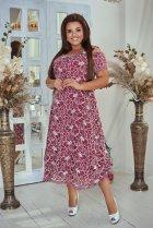 Платье ALDEM 1741 52 Бордовое (2000000366135) - изображение 2