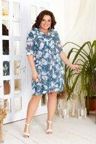 Платье ALDEM 1833 52 Морская волна (2000000365381) - изображение 1