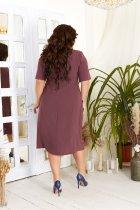 Платье ALDEM 2008 54 Марсала (2000000381169) - изображение 3