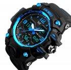 Чоловічий спортивний кварцовий годинник Skmei Hamlet Blue 1155B - изображение 2