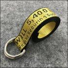 Ремень тканевый LeathART 130х3,5 см (acs0004361) Желтый - изображение 5