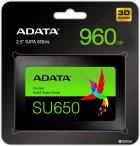 "ADATA Ultimate SU650 960GB 2.5"" SATA III 3D NAND TLC (ASU650SS-960GT-R) - зображення 2"