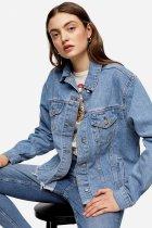 Куртка джинсова TopShop 05J77R-MDT 10 (46) (5045433898607) - зображення 2