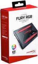 """Kingston SSD HyperX Fury RGB 240GB 2.5"""" SATAIII TLC (SHFR200/240G) - зображення 12"""