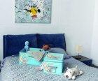 Короб для зберігання одягу Handy Home Ведмедик 54х40х25 см Блакитний (UC-103) - зображення 3