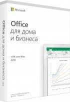 Microsoft Office Для дома и бизнеса 2019 для 1 ПК (c Windows 10) или Mac (FPP - коробочная версия, английский язык) (T5D-03347) - изображение 1