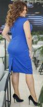 Платье New Fashion 059 56 Электрик (2000000413594) - изображение 2