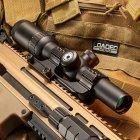 Приціл оптичний Barska AR6 Tactical 1-6x24 (IR Mil-Dot R/G) - зображення 5