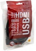Кабель ExtraDigital HDMI - DVI-D Single Link 1.5 м Black (KBh1684) - изображение 4