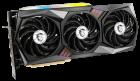 MSI PCI-Ex GeForce RTX 3070 Gaming X Trio 8GB GDDR6 (256bit) (14000) (HDMI, 3 x DisplayPort) (RTX 3070 GAMING X TRIO) + Блок питания MSI MPG A750GF 750W в подарок! - зображення 3