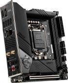 Материнская плата MSI MEG Z490I Unify (s1200, Intel Z490, PCI-Ex16) - изображение 2