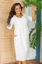 Платье ALDEM 2008 54 Белое (2000000442488_ELF) - изображение 3