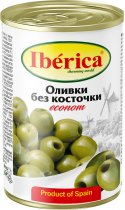 Оливки Iberica Econom без косточки по 280 г (8436024297744) - изображение 1
