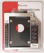 """Карман-переходник 9.5 мм для установки второго жесткого диска 2.5"""" SSD/HDD SATA 3.0 в отсек DVD (optibay caddy) - изображение 1"""