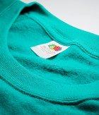 Реглан Fruit of the Loom Classic raglan sweat XXL Изумрудный (0622160772XL) - изображение 3
