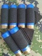 СайдСеддл (SideSaddle) BML – патронташ на ствольну коробку для дробовика 12 калібру з м'яких матеріалів (тканина) - на 4,5,6,7 або 8 патронів (на вибір клієнта) (77771) - зображення 4