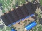 СайдСеддл (SideSaddle) BML – патронташ на ствольну коробку для дробовика 12 калібру з м'яких матеріалів (тканина) - на 4,5,6,7 або 8 патронів (на вибір клієнта) (77771) - зображення 5