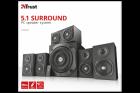 Акустическая система Trust Vigor 5.1 surround speaker system for pc - black (22236) - изображение 5