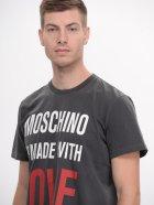 Футболка Love Moschino 8181.5 2XL (52) Асфальтова - зображення 5