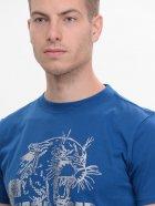 Футболка Tommy Hilfiger 9133.1 L (48) Синяя - изображение 4