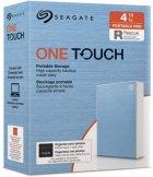 Жесткий диск Seagate One Touch 4TB STKC4000402 2.5 USB 3.2 External Light Blue - изображение 8