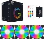 Набор 1STPLAYER RGB-вентиляторов Firebase G1 RGB Combo - изображение 7