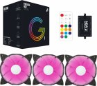 Набор 1STPLAYER RGB-вентиляторов Firebase G1 RGB Combo - изображение 9