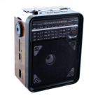 Радиоприемник GOLON RX-9100 колонка с MP3 USB SD портативное радио - зображення 4