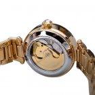 Наручний годинник AlexMosh жіночі Forsining Gold-White Flower Diamonds - зображення 2
