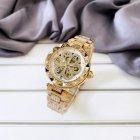 Наручний годинник AlexMosh жіночі Forsining Gold-White Flower Diamonds - зображення 3